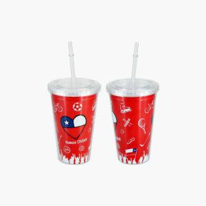 """Mug """"Vamos Chile"""" 455cc"""